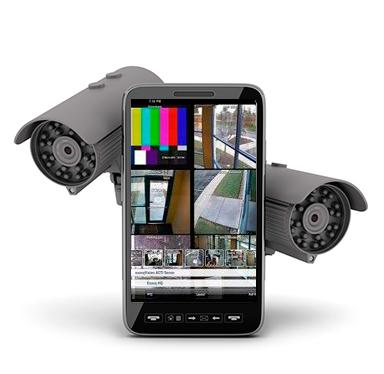 Cámaras de Video vigilancia con visión desde el móvil